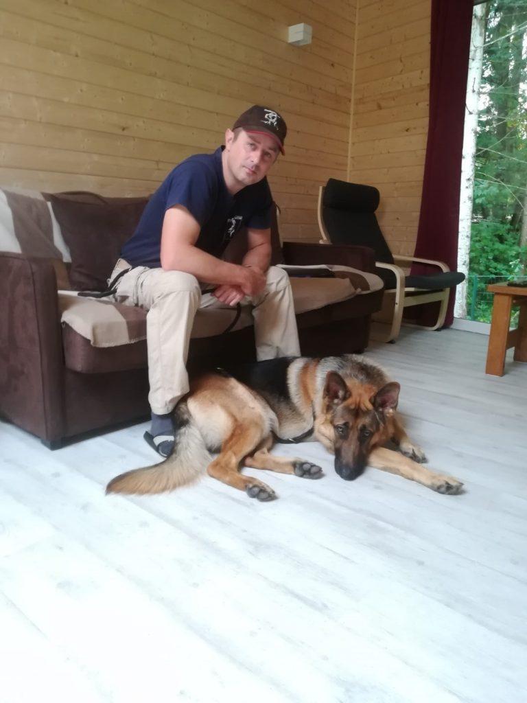 Duitse herder spike en Philippe